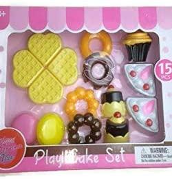 binarygirl310 Play Cake Set 15 Pieces
