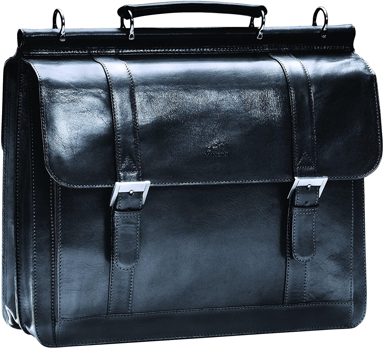 Mancini SIGNATURE Luxurious Italian Leather 15.6