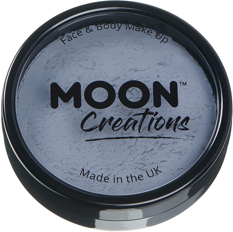 Moon Creations - Pro Face & Body Paint Cake Pots - Dark Grey
