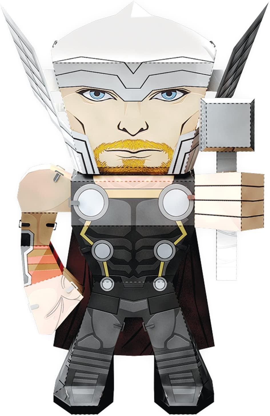 Fascinations Metal Earth Marvel Legends Thor 3D Metal Model Kit