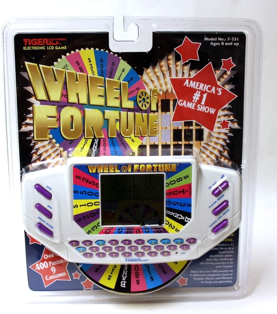 Tiger Electronics Wheel of Fortune Handheld