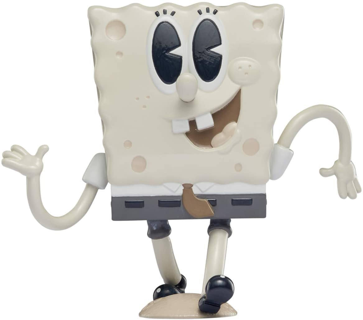 "SpongeBob SquarePants, Spongepop Culturepants, 4.5"" Collectible Vinyl Figure, Old-Timey"