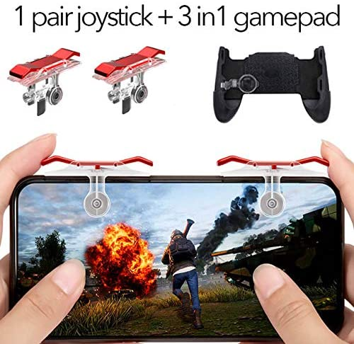 DishyKooker Gamepad Joystick for Mobile Controller L1 R1 Shoot Handle Gamepad for Kn-ives Out Game Joystick red Electronic Products for Gifts