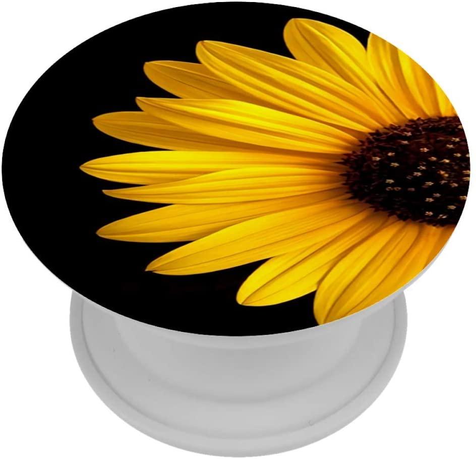 Sunflower ABS Grip Finger Kickstand for Phones & Tablets Hand Holder Knob