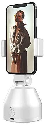 Tangaburu Selfie Sticks 360°Rotation Auto Face & Object Tracking Smart Shooting Camera Phone Mount, Vlog Shooting Smartphone Mount Holder