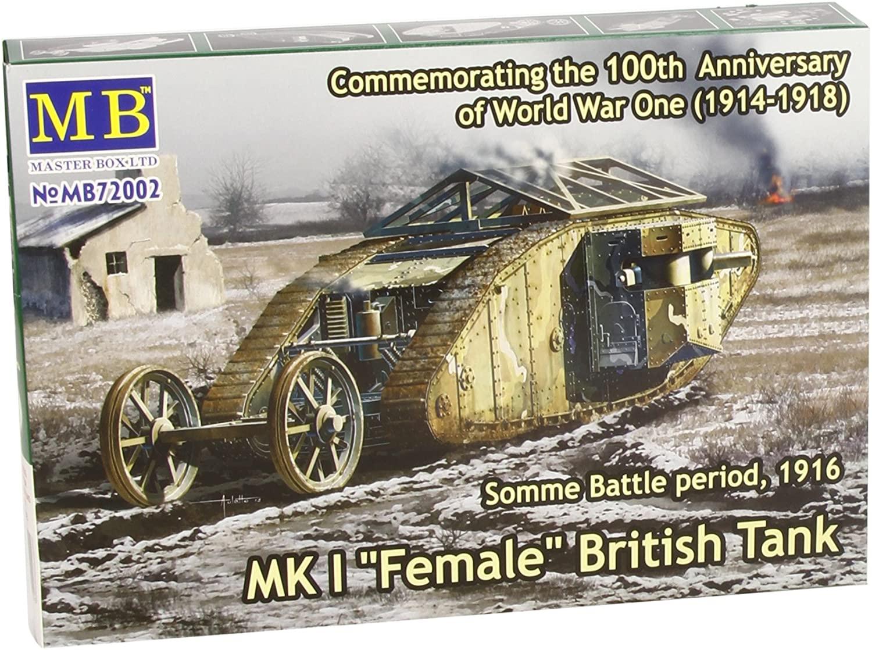 Master Box Models WWI MK I