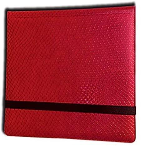 Legion 12 Pocket Binder 3x4 Dragonhide Red