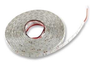 NTE Electronics 69-56A-WR Flexible Led Strip, 16.4' Reel, 300 Led, Water Resistant, Led Size 5050, 12 VDC, 72W, Amber