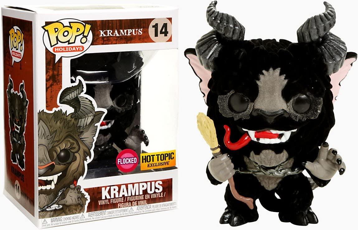 Funko Pop Holidays: Krampus - Flocked Krampus Collectible Figure, Multicolor