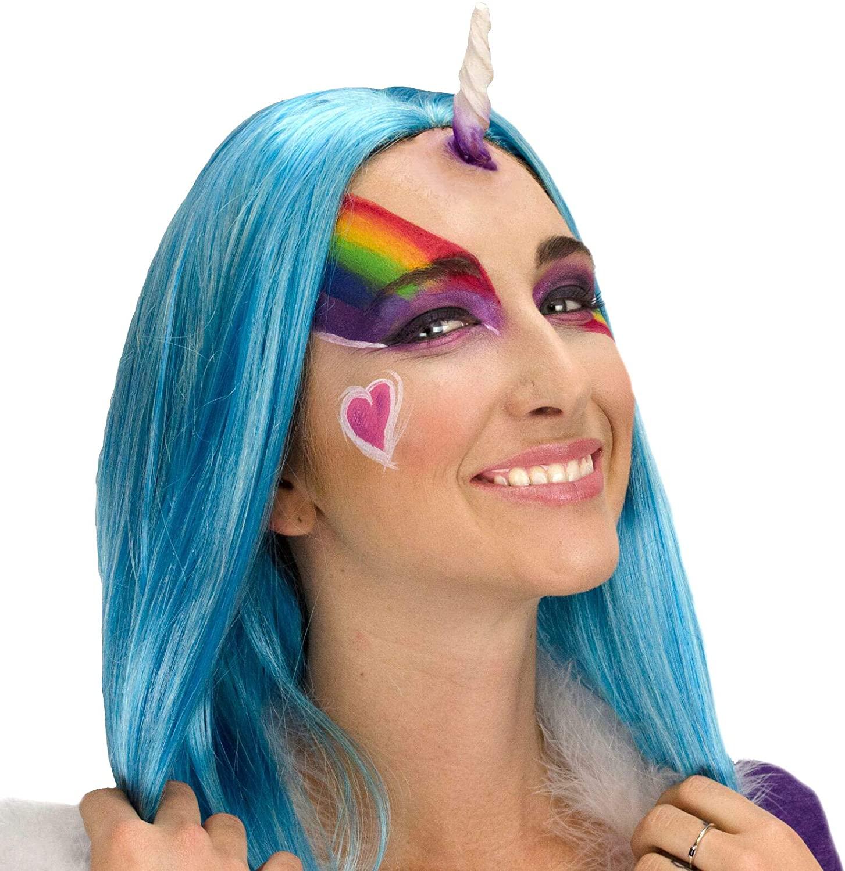 Woochie 3D FX Makeup Kit - Professional Quality Halloween Costume Makeup - Unicorn