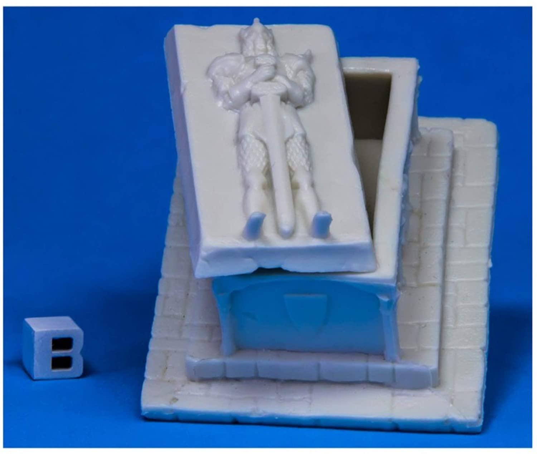 Reaper Miniatures Large Sarcophagus77540 Bones Unpainted RPG D&D Figure