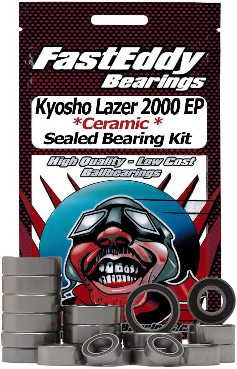 Kyosho Lazer 2000 EP Ceramic Rubber Sealed Bearing Kit