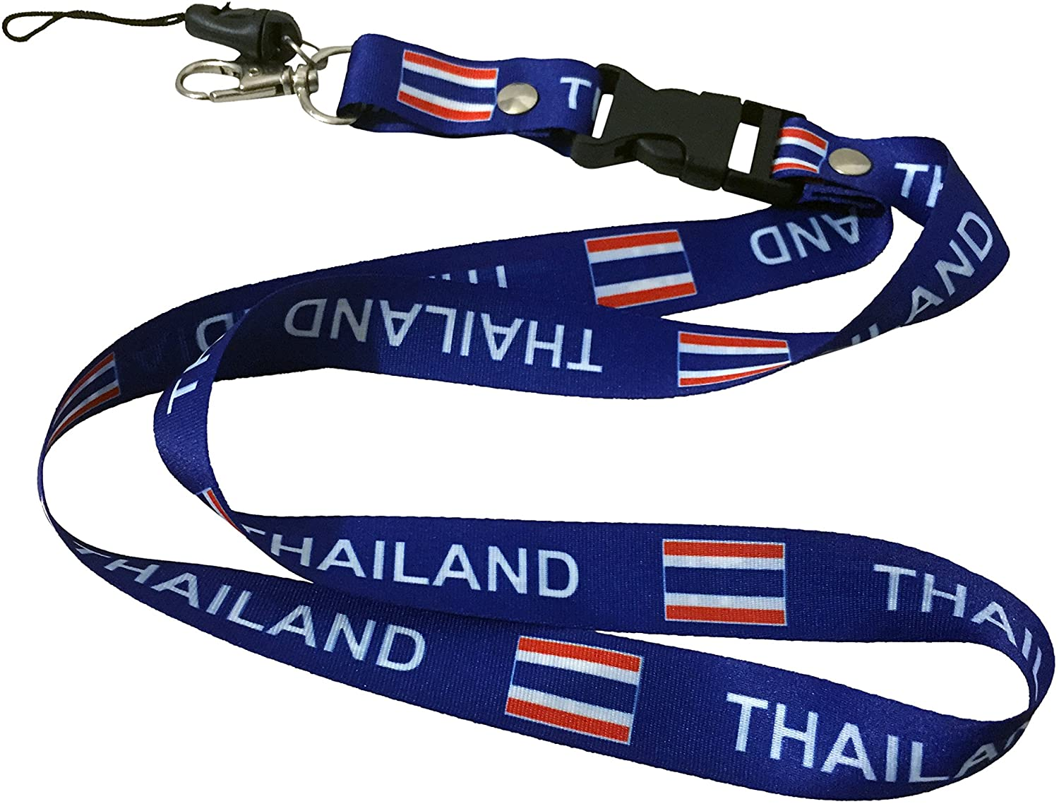 Lanyard Neck Strap Necklace Key Chain Card Badge Holder – Asia and Africa (Country: Thailand)