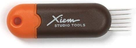 Xiem Tools Retractable Scoring Tool for Pottery and Ceramics