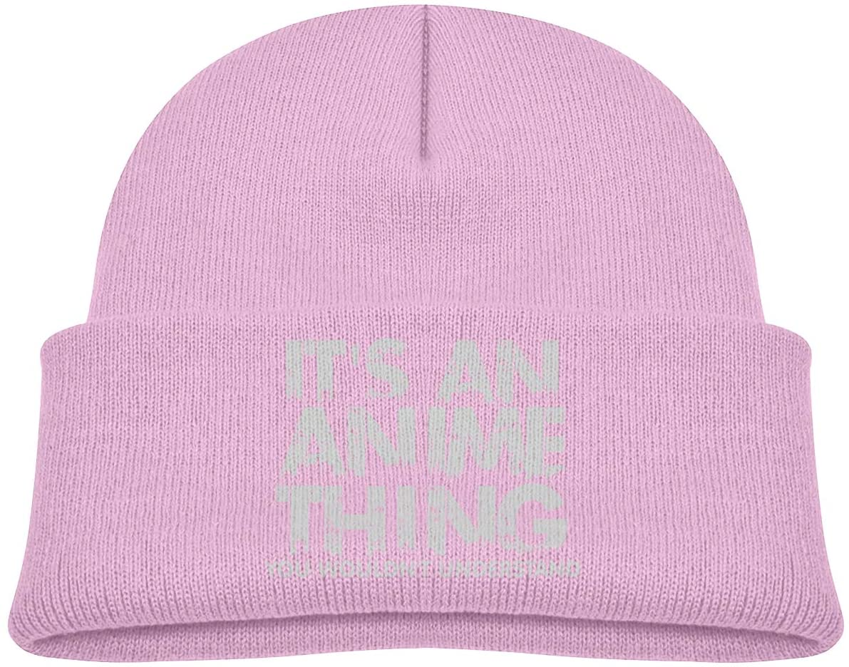 It's an Anime Thing A Cute and Thick Stretch Cap Suitable for Children's Winter Warm Baby Cap