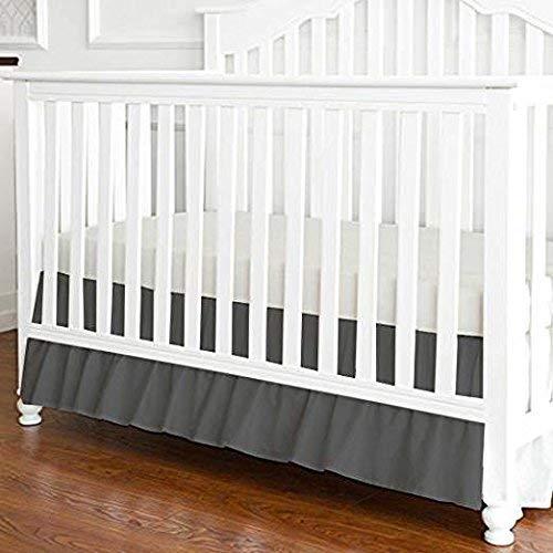Cotton Ruffle Crib Bedskirt Standard Size 28