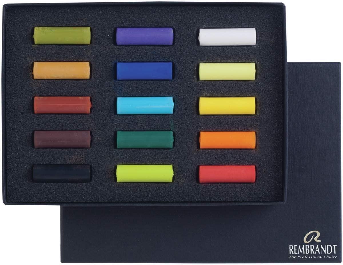 Royal Talens 31823108 General Rembrandt Pastel Set - 15 per Pack