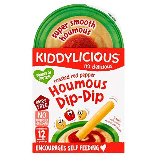 Kiddylicious Houmous Dip Dip Red Pepper 56g