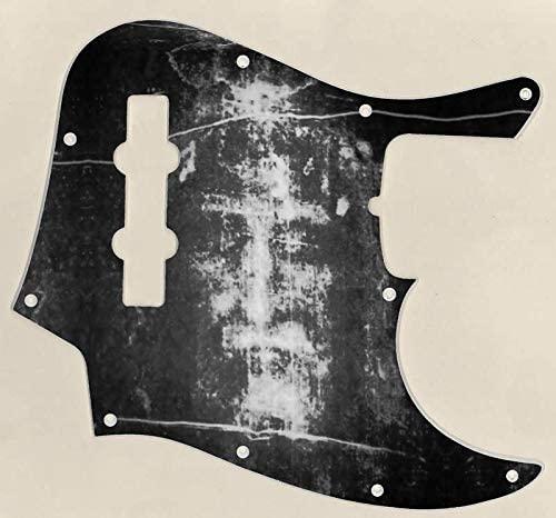 Custom Graphical Pickguard to fit Fender J Bass Jazz Bass The Shroud BW