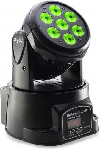 Stagg SLI MHW HB10-1 LED Headbanger 10 LED Moving Head Indoor Light