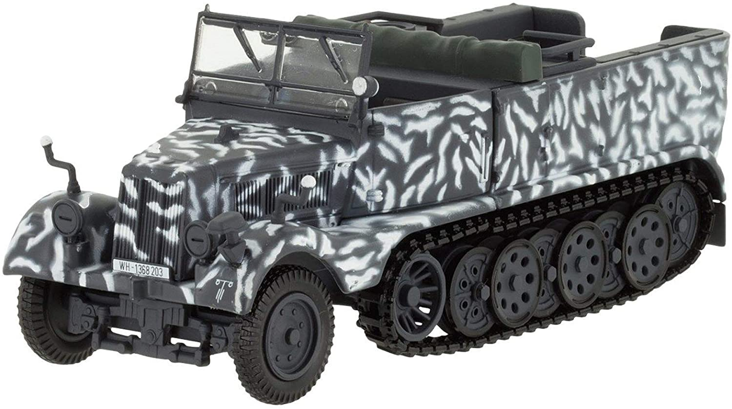 Sonderkraftfahrzeug Sd.Kfz 1942 Year German Special Purpose Vehicle 1/43 Collectible Model Vehicle Special Ordnance Vehicle