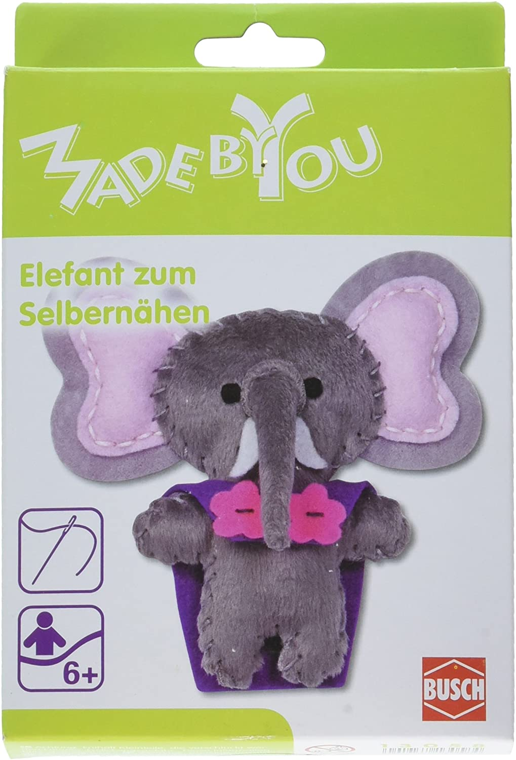Busch Made by You 13058 Elephant Children's Craft Kit