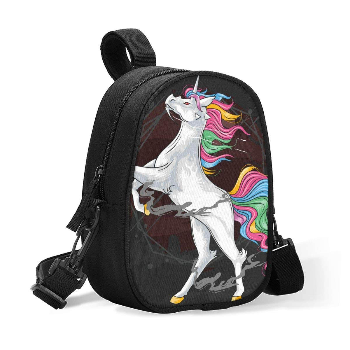 Breastmilk Baby Bottle Cooler & Travel Bag Marvellous Rainbow Unicorn Animal Horse Portable Breast Milk Storage Insulated Baby Bottle Carrier Tote Bag for Bottles Work Mommy Stroller Outdoor Use