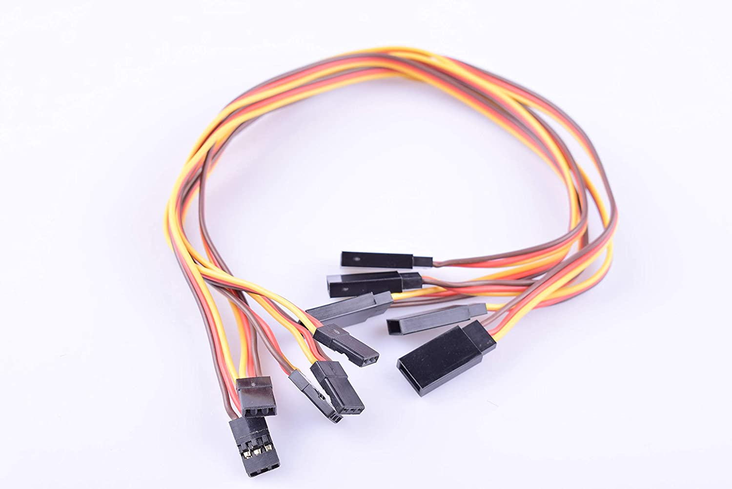 Hengfuntong-Elec JR Male to Female Servo and Receiver Extension Wire with 22awg 11.8