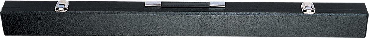 Action Brand ACBX01 1X1 Hard Vinyl Over Wood Pool/Billiard Box Cue Case - Black
