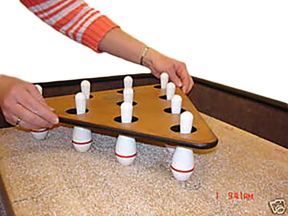 Sun-Glo Shuffleboard Bowling Pins and Pinsetter