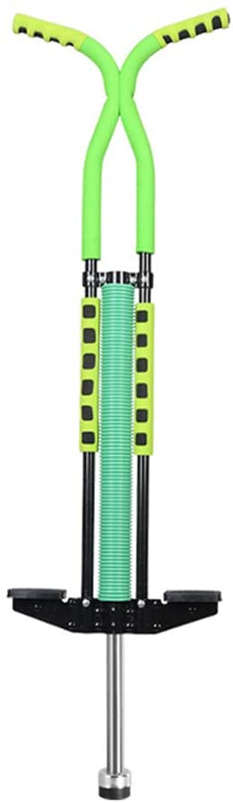 Walmeck Adults/Kids Pogo Stick Jumping Stilts Fly Jumper Air Kicks Boing Outdoor Body-Building Kangaroo Jumping Shoes Gym Sport Exercise