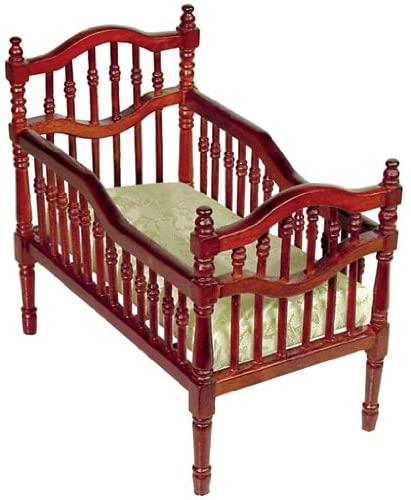 Aztec Imports, Inc. Dollhouse Miniature Victorian Crib