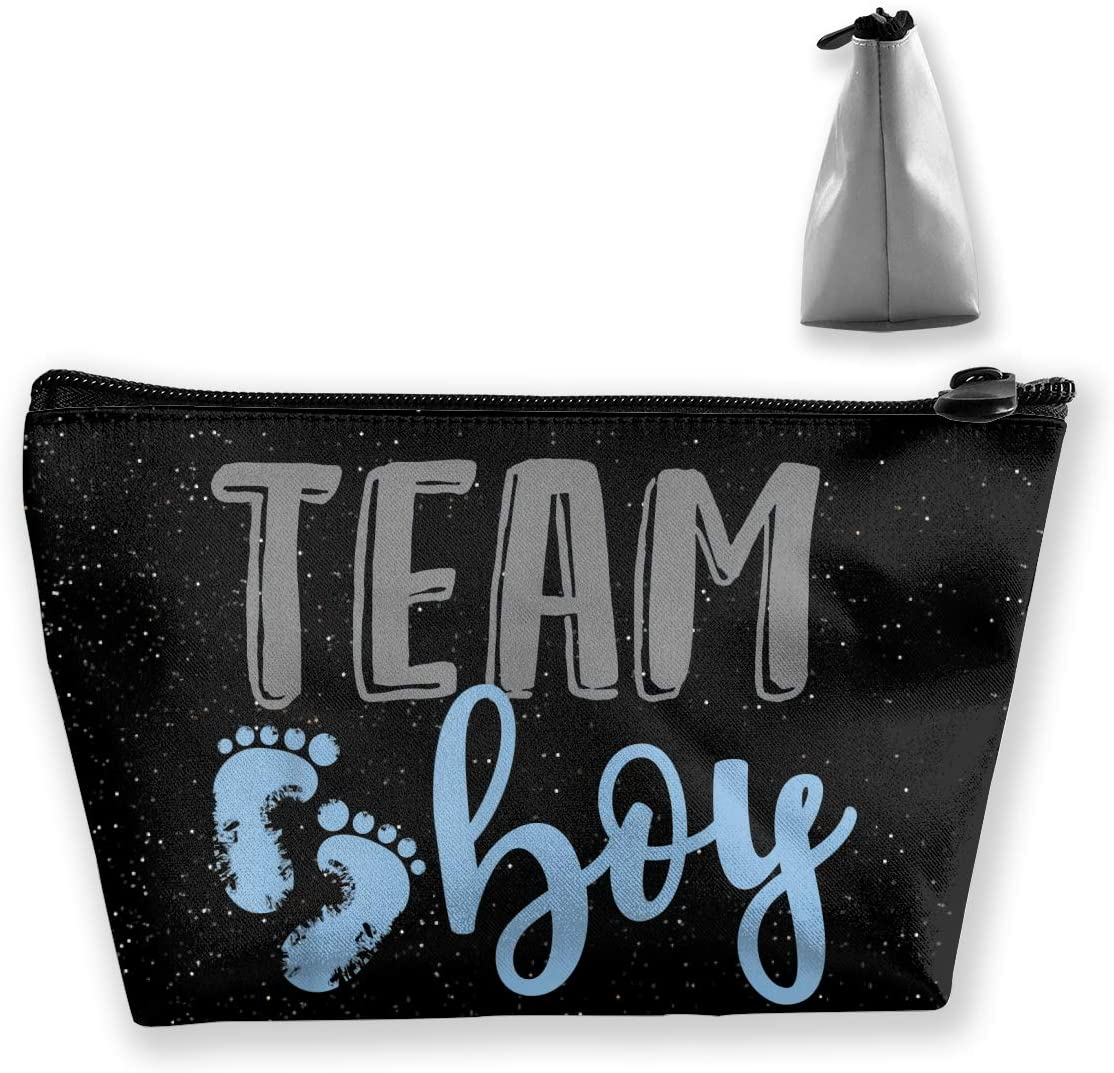 Heyuchuan Team Boy Gender Reveal Baby Shower Cosmetic Bags