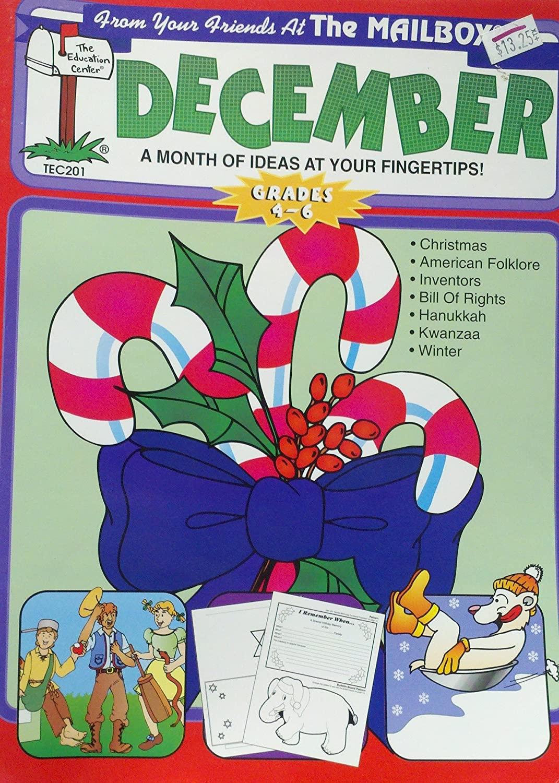 December Monthly Idea Book Internet Interactive Grades 4-6