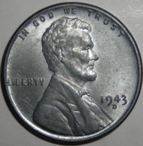 1943-D Wheat Penny (Coin)