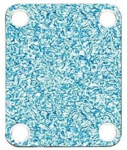 Custom Graphical Guitar Neck Plate Neckplate Cells Blue