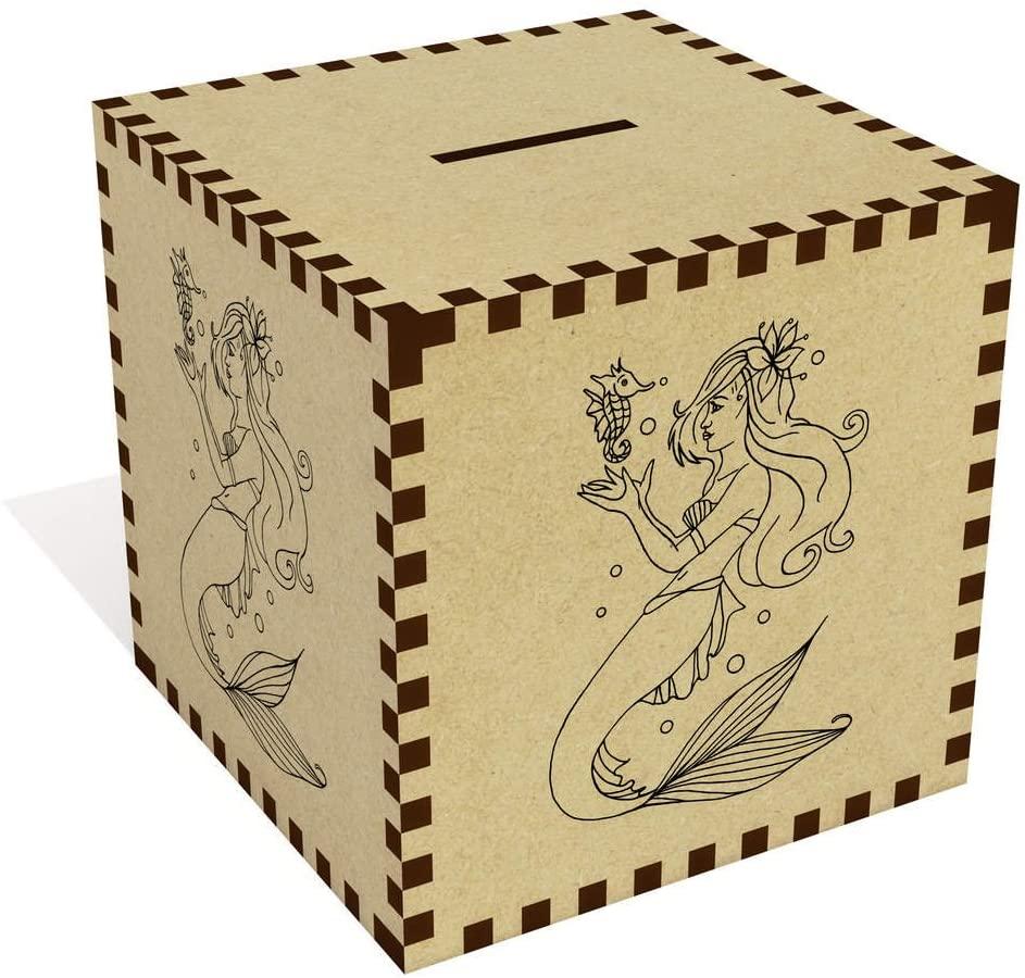Azeeda Large 'Mermaid' Money Box / Piggy Bank (MB00022535)