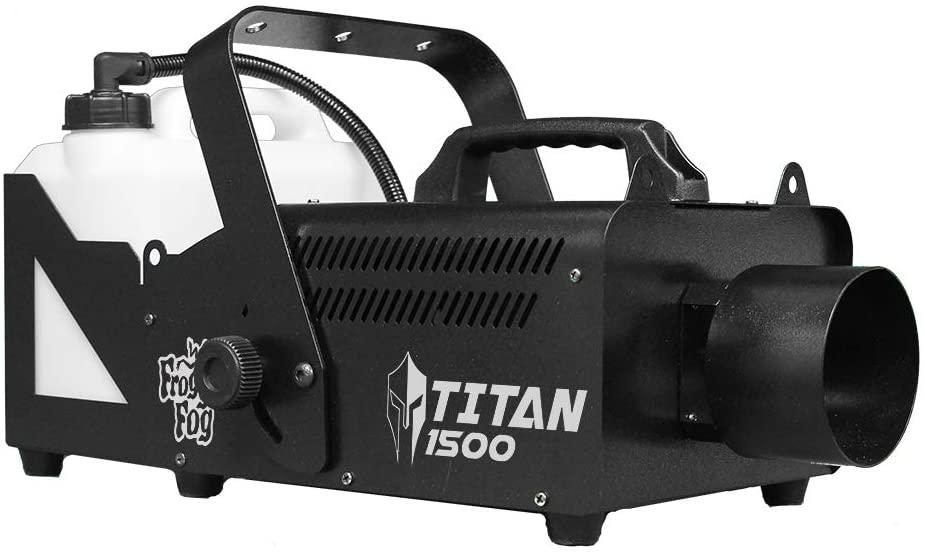 Titan 1500 DMX | 25,000 CFM - DMX Control - Quick Ready Fog Technology