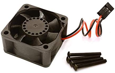 Integy RC Model Hop-ups C28623 40x40x20mm High Speed Cooling Fan 17k RPM w/JST 2P Plug 230mm Wire Harness