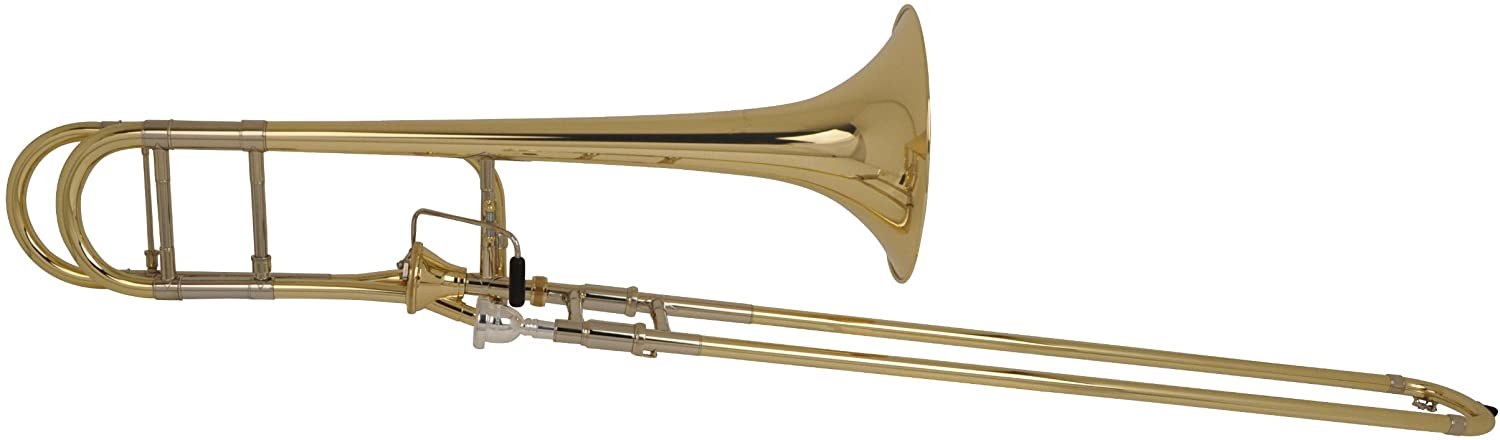Bach 42AF Stradivarius Series Axial Flow F Attachment Trombone 42AF Lacquer Yellow Brass Bell