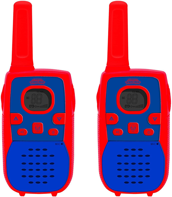 LEXiBOOK - TW41SP - Talkie Walkie Spider Man - Transmission 5 Km