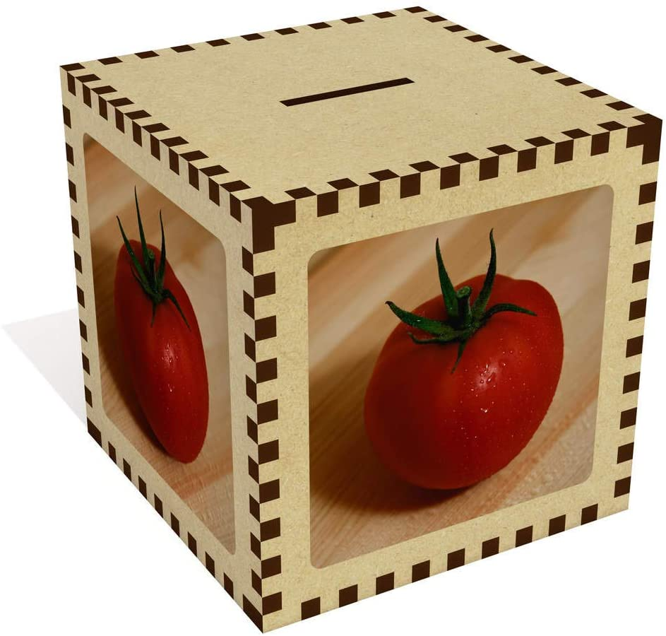 Azeeda Large 'Tomato' Money Box / Piggy Bank (MB00009920)
