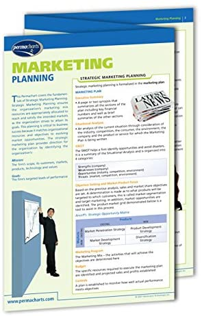 Strategic Marketing Planning Guide - Business Quick Reference Guide by Permacharts