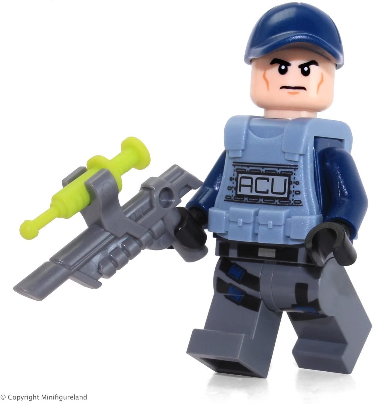 LEGO Jurassic World ACU Minifigure