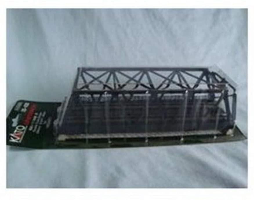 Kato 20-438 N Double Black Truss Bridge