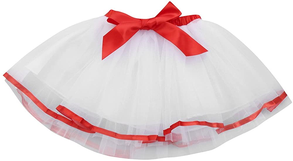 WOCACHI Toddler Girl Dresses, Kids Girls Tutu Tulle Party Dance Ballet Rainbow Skirt with Bow Headdress