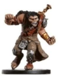 D & D Minis: Longtooth Barbarian # 19 - Aberations
