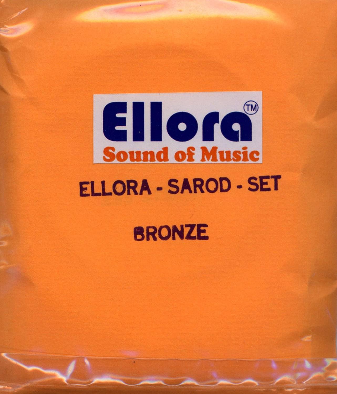 Sarod Strings, Roselu Ellora, Professional, with Sympathetic (Tarabh) Strings