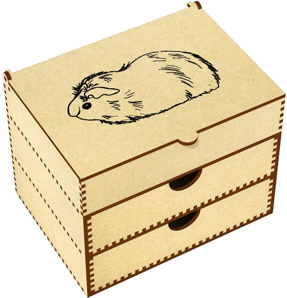 Azeeda Guinea Pig Vanity Case / Makeup Box (VC00012170)