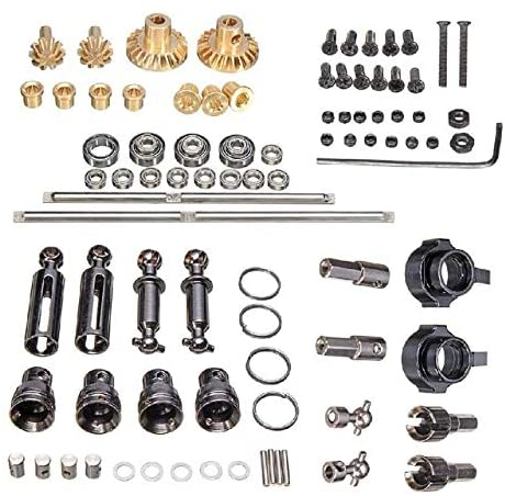 Parts & Accessories RCtown for WPL RC Car B1 B14 B24 C14 C24 1/16 4WD Military Truck RC Cars Spare Part Set - (Color: As Shown)